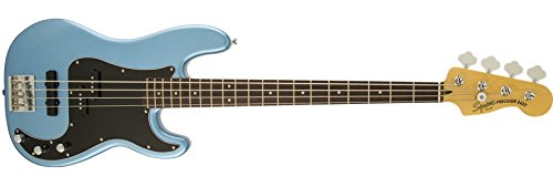 Squier by Fender Vintage Modified Precision Bass  (PJ) Lake Placid Blue (Agathis Bass)