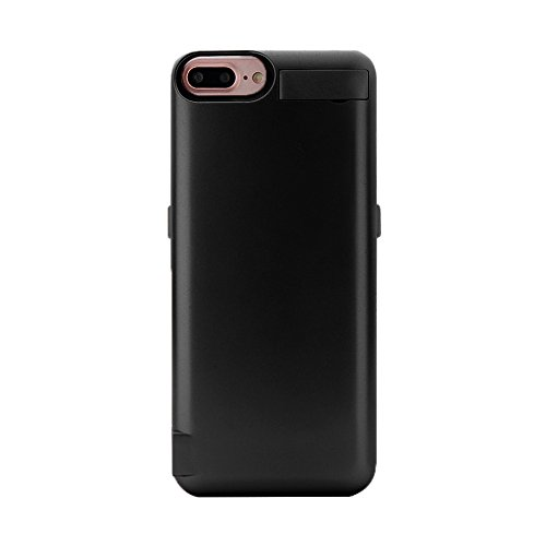 iPhone 6 Battery Case Pack, Charging Case 6800mAh – External Battery Back Up Power Bank Pack, Ultra-Slim Rechargeable Portable Fast Charger, High Capacity Protective Cover (Black) by PowerLocus (Image #6)