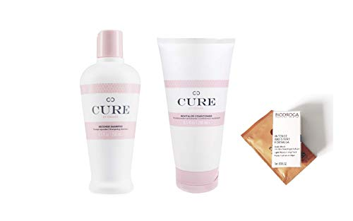 ICON Cure Recover Shampoo 8.5 oz & Revitalize Conditioner 8.5 oz DUO (2 Free Samples)