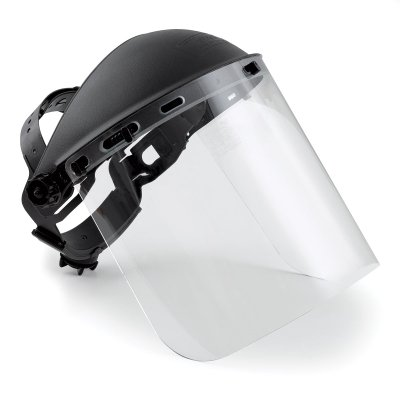 - SAS Safety 5140 Clear Full-Face Shield