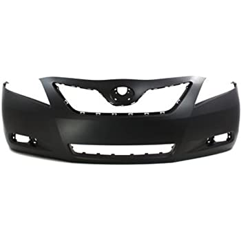 Crash Parts Plus Primed Front Bumper Cover Replacement for 2007-2009 Toyota Camry