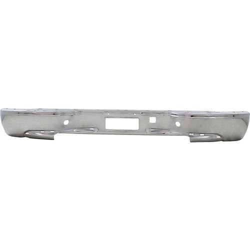 NorthAutoParts 19121286 Fits Chevrolet Silverado GMC Sierra Rear Chrome Bumper Cover GM1102413