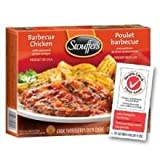 Nestle Stouffers Entree Barbeque Chicken Breast in Sauce, 10 Ounce - 12 per case.