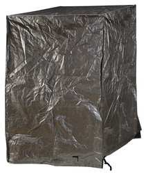 Industrial Grade 3ZRU2 Pallet Cover Tarpaulin, 48x48x72In