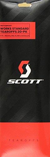Scott Sports Nsxi/Recoil Xi/79 Works Tear-Off (Clear) - Pack of 20 by Scott Sports (Image #2)