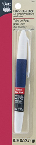 Dritz 423 Fabric Glue Stick, Pen Style, 0.09-Ounce