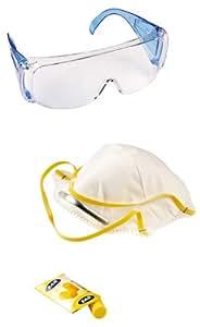 Bosch - Conjunto de seguridad: gafas, máscara, tapones