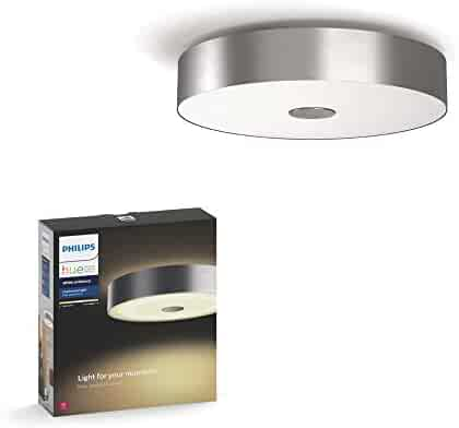 Smartika EDGE LED Smart Recessed Light Ceiling 4 Square Cover Plate Works with Alexa