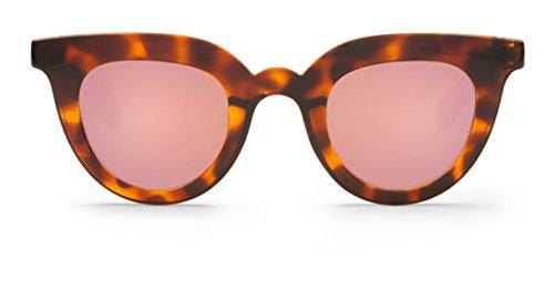 para with de Lenses Boho Hayes Sol Gafas Copper Vintage Mujer Mr 44 Tortoise qwS86EBS