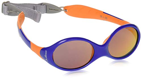 Julbo Loopin II Baby Sunglasses, Blue/Orange, Spectron 3 CF Red Lens, 12-24 Months