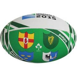 - Gilbert 2015 Rugby World Cup Ireland Flag Rugby Ball, 5