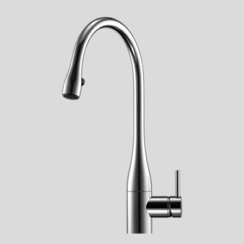 KWC Faucets 10.111.103.700 EVE Pull Down Kitchen Faucet, Steel (Faucet Cartridge Kwc)