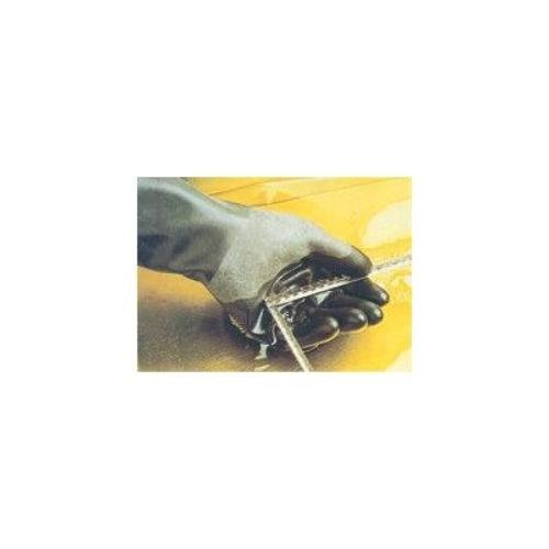 North Safety B174R/8 Honeywell North Butyl Gloves, Unsupported, Rough Grip, 14''/17 mil, Size 8 by North Safety (Image #1)