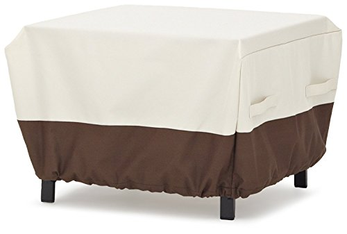 AmazonBasics Ottoman Outdoor Patio Furniture Cover