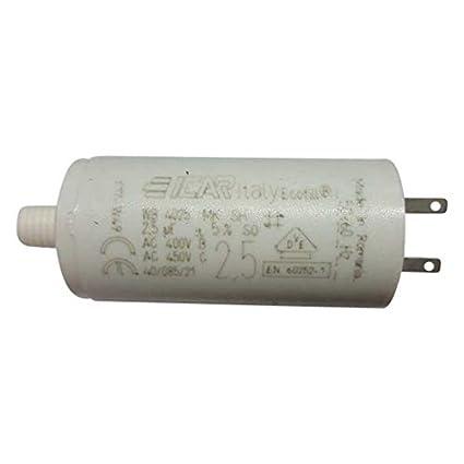 Condensateur Pour Volet Roulant Somfy 2 5 µf Amazon Fr Commerce Industrie Science