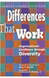 Differences That Work, Mary C. Gentile, 0875844995