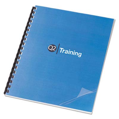 (GBC : Clear View Presentation Binding System Covers, 8 1/2 x 11, Clear, 100 per Box -:- Sold as 2 Packs of - 100 - / - Total of 200 Each)