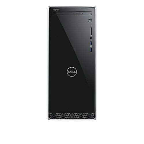 2019_Dell Inspiron 3670 Desktop Computer PC with 9th Gen Intel i3-9100, 1TB HDD, 8GB RAM, DVD R/W, Wireless + Bluetooth…