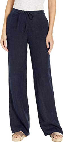 Petite Washed Linen - Juicy Couture Women's Washed Linen Pants Regal Petite/X-Small 34