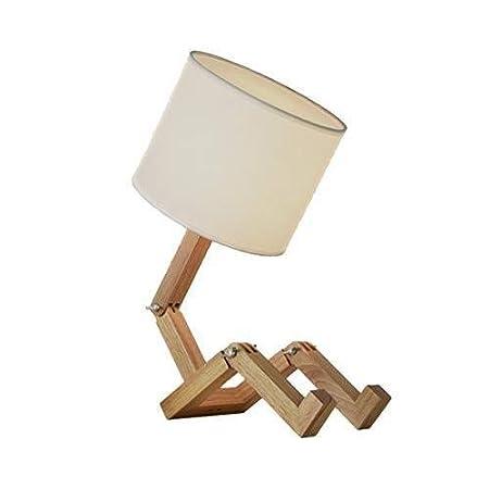 50% de réduction boutique de sortie section spéciale MKOG Lampes de table, lampe de table Lampe de table en bois ...