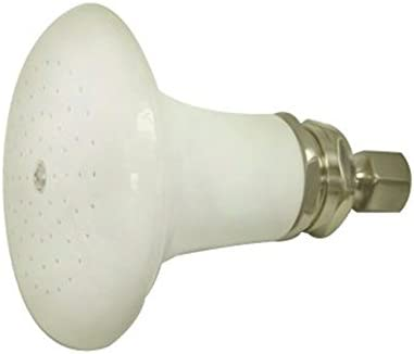 Kingston Brass P50SN Designer Trimscape Ceramic Showerhead, Satin Nickel