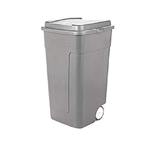 49 Gallon Trash Can Rolling Recycling Bin Garbage Pet Proof Resistant Outside No-Odor Heavy-Duty Industrial & eBook by OISTRIA