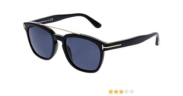 073cbd68a40 TOM FORD FT0516 01A OCCHIALE DA SOLE NERO BLACK SUNGLASSES SONNEBRILLE NEW  NUOVI at Amazon Men s Clothing store