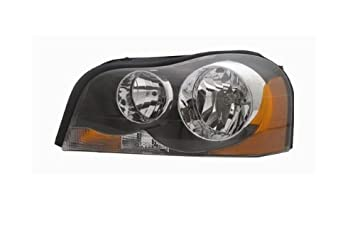 volvo xc90 replacement headlight assembly halogen - 1-pair