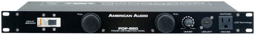 - American Audio Pdp 850 Led Dimmable Rack Light And Power Distribution Panel