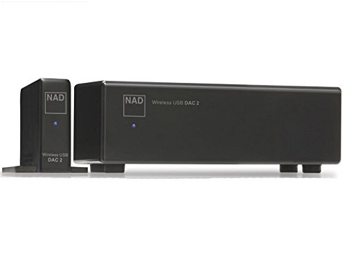 NAD DAC 2 Wireless 24Bit/192kHz USB Digital-to-Analog Converter by NAD