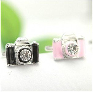 Price comparison product image Bosun(TM) Korean small and cute wave of people ring wholesale crystal ring camera