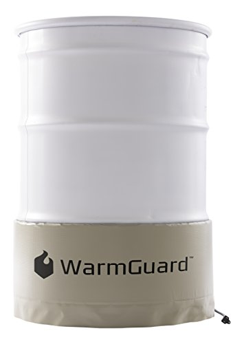 WarmGuard WG55 Insulated Drum Band Heater - Barrel Heater, Fixed Internal Thermostat Max Temp 145 F