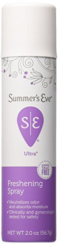 Summer's Eve Ultra Freshening Feminine Deodorant Spray 2-Ounces ()