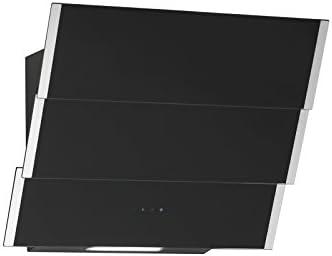 Campana extractora libre de cabeza Naos inox negro cristal 60 cm, eficiencia energética: A 850 m³/h Motor Acero Inoxidable Chimenea: Amazon.es: Grandes electrodomésticos