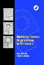 Boundary Element Programming in Mechanics