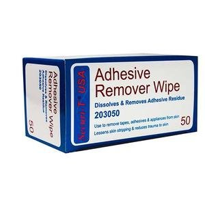 Securi-T USA Adhesive Remover Wipe 1-1/4'' x 3'' by GENAIREX