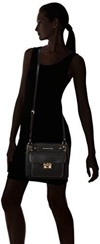 Trussardi Jeans - 75b00038-1y090218, Carteras de mano Mujer, Nero, 10.5x22x26.5 cm (W x H L)