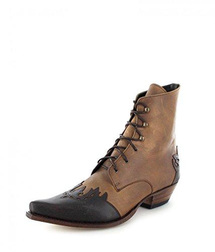 Formato Sendra Delle Caviglia Nere Alla Per Colore Marrone 8 Le Negro Con Stivali Donne Lacci Blanco Donne Stivaletti Uk E 11699 Bianche Stivali 4rpnRZ4qS