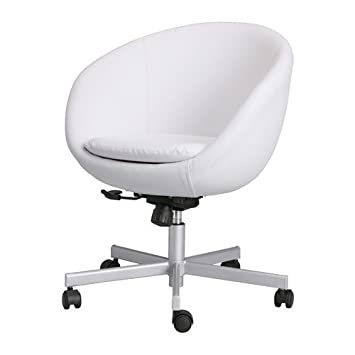 IKEA SKRUVSTA - Silla giratoria, blanco Idhult: Amazon.es: Hogar