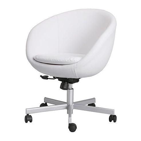 Schreibtischstuhl weiß ikea  IKEA Drehstuhl