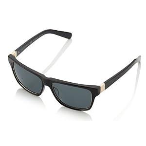Oxford Vaughan MonteCarlo Casino Squares Super Privés Salon Sunglasses Black/Black