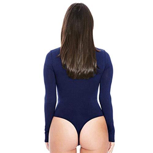 Vin Des Moyenne Avec Longues Blanc Womens Rouge Zhrui Taille Un Survêtement Sexy Manches Siamois couleur ftpxOq