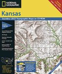 National Geographic TOPO! Kansas Map CD-ROM (Windows)