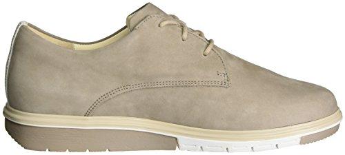 Ganter Heya-h, Zapatos de Cordones Derby para Mujer Beige (taupe/weiss)