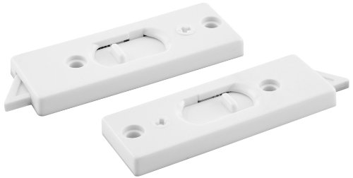(Prime-Line F 2801 Vinyl Window Tilt Latch with Lock, White,(Pack of 2))