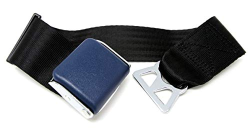 Garen Airplane Seat Belt Extender,for Southwest Airlines / E4 Safety Certified,with Carrying Case- Blue/Type B (1)