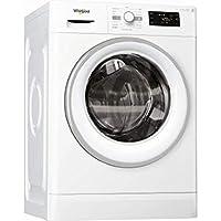 Whirlpool FWDG 86148 WS FR Charge avant Autonome Blanc A - Machines à laver avec sèche linge (Charge avant, Autonome, Blanc, Gauche, boutons, Rotatif, LED)
