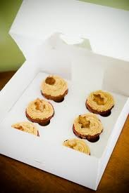 Pack of 50 Cupcake Box holds 6 WHITE 10x10x4 with INSERTS Bakery Cake Box