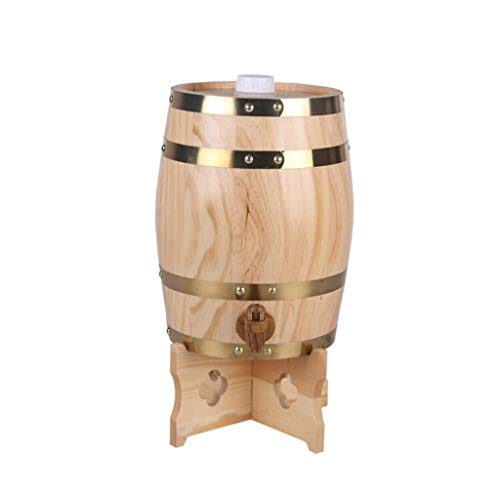 - ZAQXSW-bt Wooden oak barrel wine barrel wooden barrel wine barrel wine barrel decoration red wine barrel beer barrel household (Color : Style E)