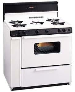 Premier SLK249W 36 Freestanding Gas Range - White